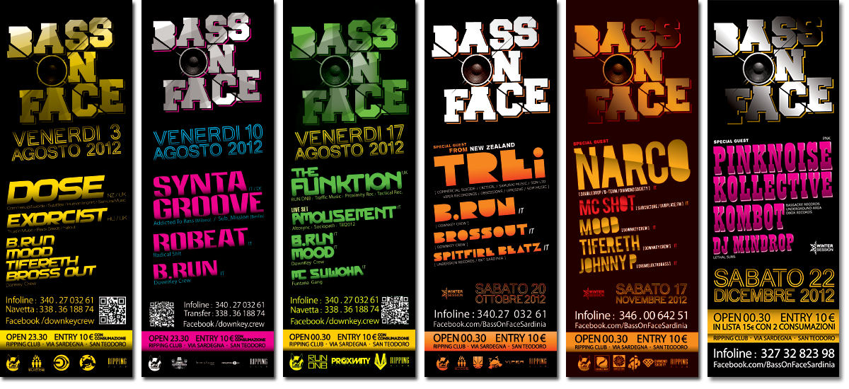 BASS ON FACE