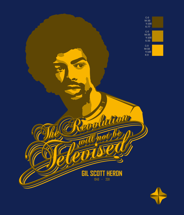 GIL SCOTT HERON 4 GOLD