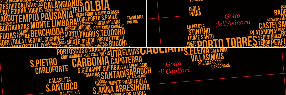 ♦ ALTERNATIVE MAP PROJECT ♦ SARDEGNA